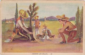 Jugando Los Gallos, Mexico, PU-30-40s