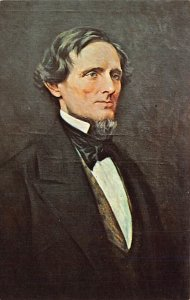 Jefferson Davis, Pres. of Confederacy 1861 ?????1865 USA Civil War Unused