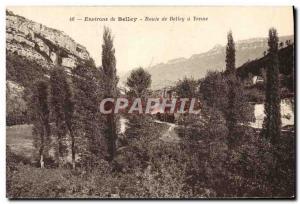 Old Postcard Around Belley Belley Road Yenne