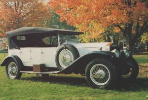 Rolls Royce Silver Ghost Car 1922 Sussex Museum Limited Edition Postcard