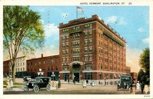 VT - Burlington. Hotel Vermont