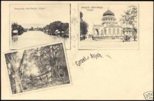 indonesia, SUMATRA ATJEH ACEH, Kota Radja, Misdjid 1899