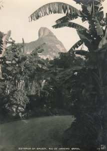 RP: RIO DE JANEIRO, Brazil, 1900-10s; Estrada Da Gavea