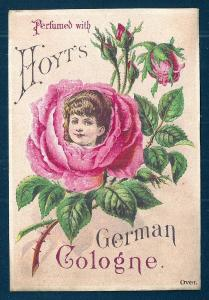 VICTORIAN TRADE CARD Hoyts German Cologne