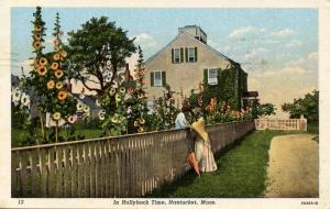 MA - Nantucket. In Hollyhock Time