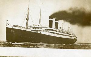 Red Star Line - SS Lapland   *RPPC