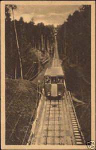germany, BADEN-BADEN, Merkurbahn, Train, Funicular 10s