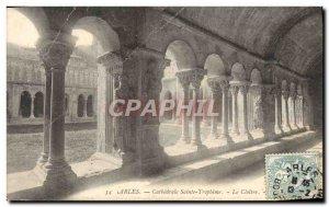 Old Postcard Arles Cathedrale Saint Trophime cloister