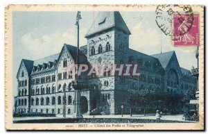 Old Postcard Metz hotel of Posts and Telegraphs