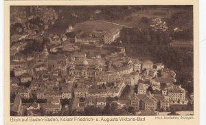 Zeppelin Postcard Germany Aerial View Gustav Eyb - Baden Kaiser Friedrich August
