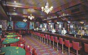Nevada Las Vegas Interior Golden Nugget Gambling Hall and Restaurant 1957