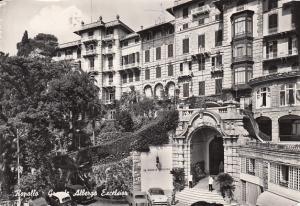 Genoa Rapallo's Grand Hotel Excelsior 1963 Hotel Cancel