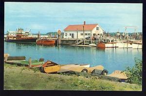 Burlington, Vermont/VT Postcard, Streamline Ferry Terminal &