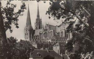 RP: CHARTRES, Eure-et-Loir, France, 1900-10s; La Cathedrale, cote Sud