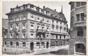 Switzerland Basel Hotel Merkur Real Photo