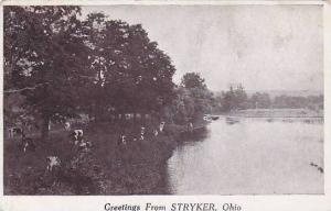 Greetings from STRYKER, Ohio, PU-1924
