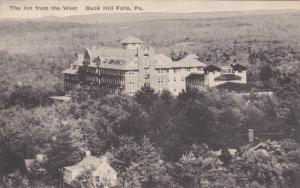 BUCK HILL FALLS, Pennsylvania; The Inn from the West, 00-10s