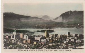 RP ; VANCOUVER , B.C. , Canada , 1930s ; Aerial View