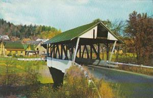 Covered BridgeOne Of The Five Old Covered Bridges In Lyndon Vermont