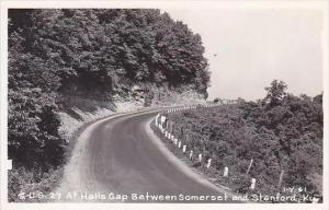 Kentucky U S Highway 27 At Halls Gap Between Somerset &  Stanford Real Pho...