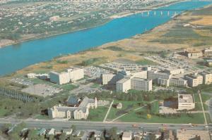 SASKATOON , Saskatchewan , Canada , 50-60s; Aerial View of University