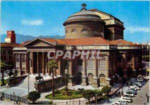 Postcard Modern Palermo Massimo Theater