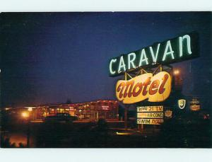 Unused Pre-1980 CARAVAN MOTEL IN MAPLE SHADE NEW JERSEY NJ & Dover DE s3957