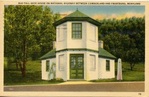 MD - Toll House on the Cumberland Road (U.S. 40)
