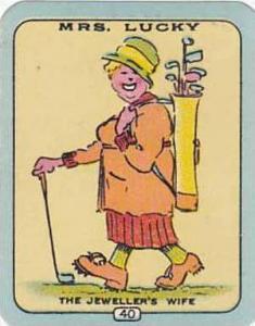 Carreras Vintage Cigarette Card N0 40 The Jewellers Wife