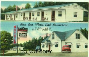 Blue Jay Motel & Restaurant, Salem VA