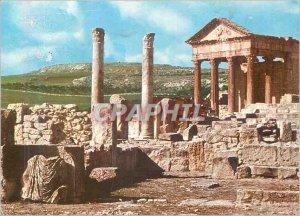 Postcard Modern Dougga Roman Ruins