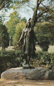 Virginia Jamestown Pocahontas Statue