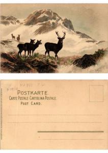 CPA Von Bergeshohn Meissner & Buch Litho Serie 1264 (730434)