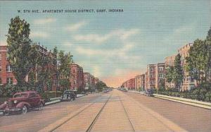Indiana Gary W 5th Avenue Apartment House District 1942