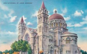 Missouri St Louis The New Cathedral 1954
