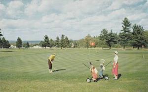 Golf Course , Houghton Lake , Michigan , PU-1957
