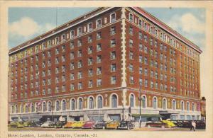 Canada Hotel London London Ontario 1958