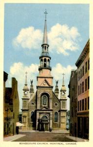 Canada - Quebec, Montreal. Bonsecours Church