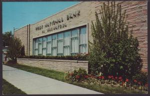 First National Bank,Wauwautosa,WI Postcard BIN