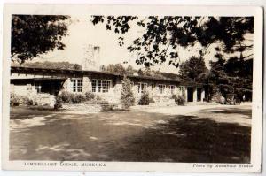 RPPC, Limberlost Lodge, Muskoka