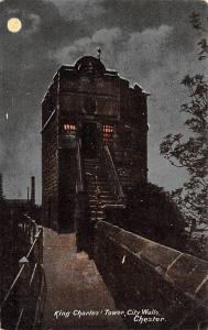 Chester United Kingdom, Great Britain, England King Charles, Tower, City Wall...