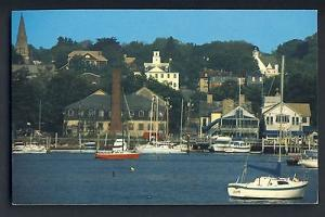 East Greenwich, Rhode Island/RI Postcard, Greenwich Cove,