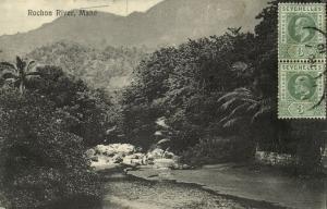 seychelles, MAHÉ, Rochon River (1910) Stamps