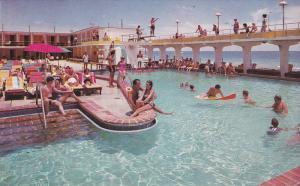 Swimming Pool , LUCERNE Hotel , Miami Beach , Florida , 40-50s