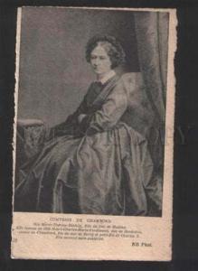 055072 FRANCE ROYAL FAMILY Comtesse de Chambord Vintage PC