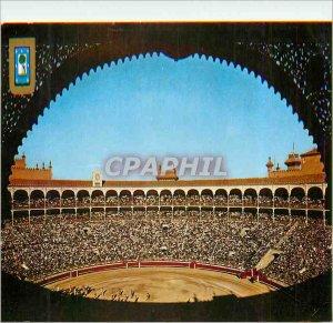 Postcard Modern Madrid Square Bulls Bullfight Dominguez