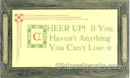 Sayings, Quotes, Postcard Postcards
