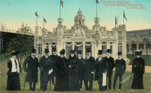 Postcard LONDON Exhibition Royal Pavilion Franco British Expo 1908