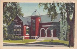 Maine Waterville Public Library