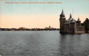 Canada Thousand Islands Alexandria Bay and Heart Island Power House